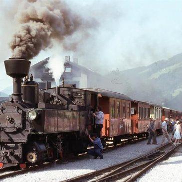 Dampfzug der Zillertalbahn